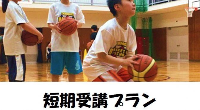 夏休み限定!短期受講プラン   ダイアモンドバスケットボールスクール
